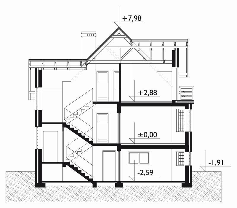 Проект дома Кварцит (E-288)