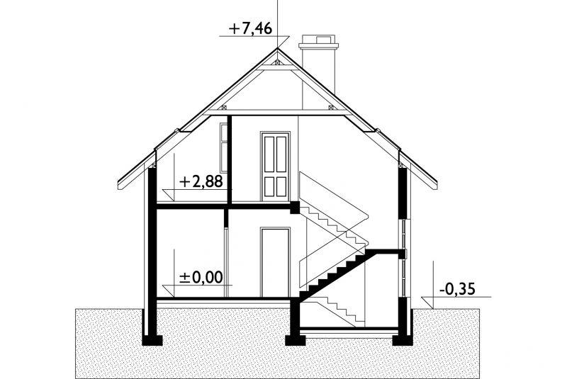 Проект дома Лазурит (E-296)
