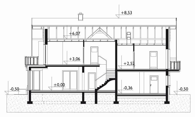 Проект дома Лазур (E-1247)