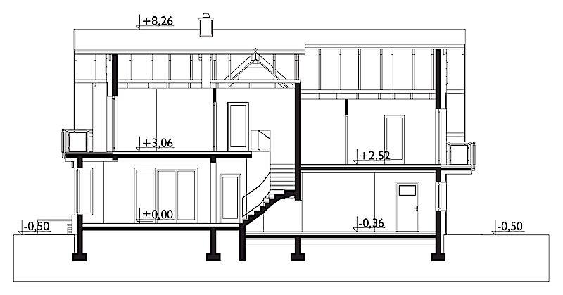 Проект дома Лазурит Ас (E-1329)