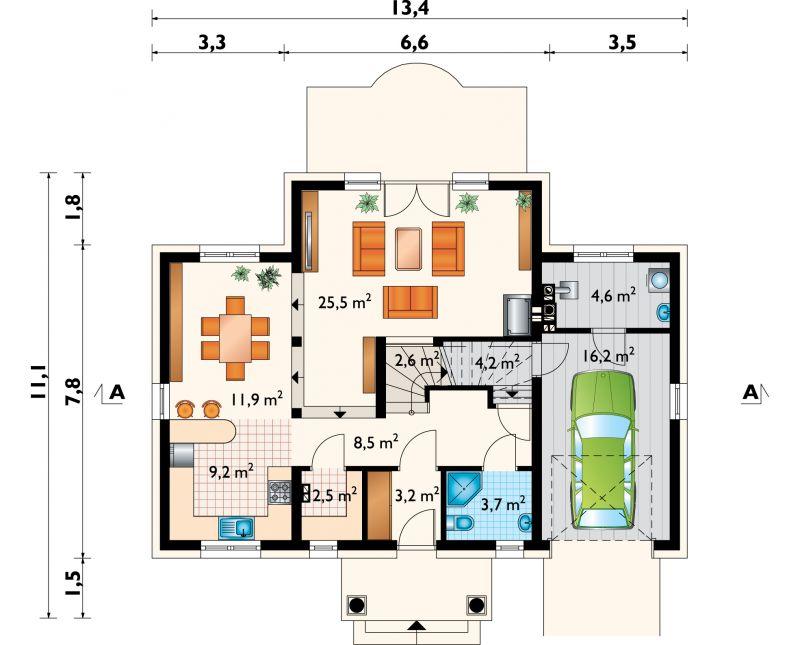 Проект дома Лида Люкс (E-1154)