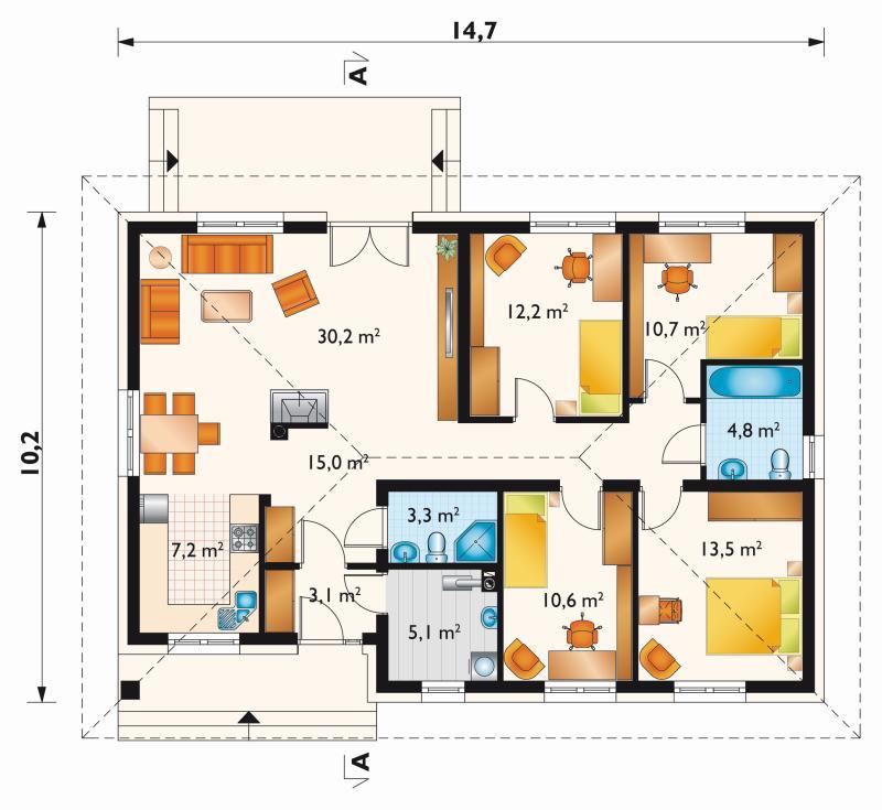 Проект дома Лена Эко (E-1161)