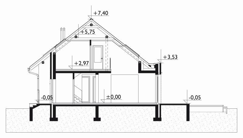 Проект дома Линда Нова (E-1193)