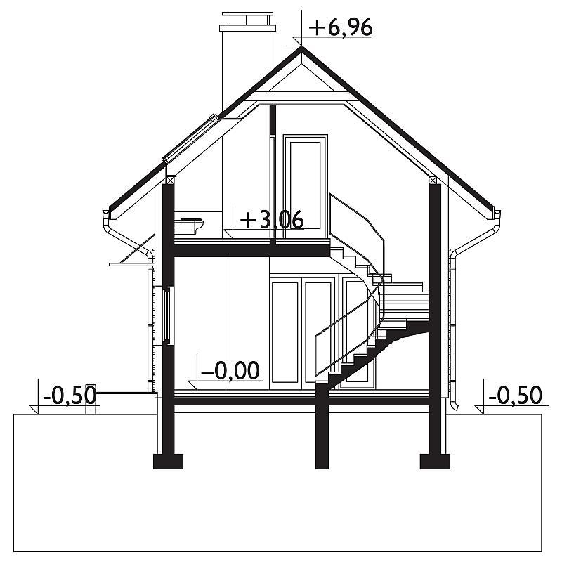 Проект дома Лонгинус (E-1084)