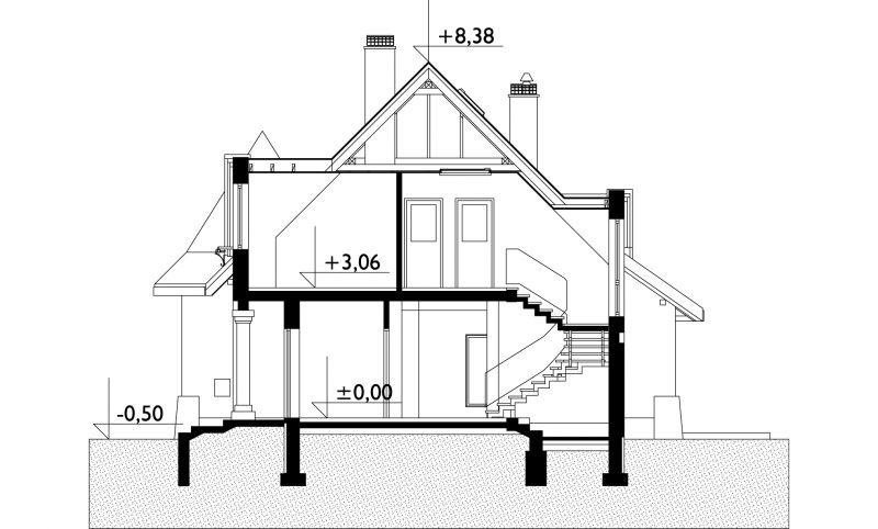 Проект дома Любич (E-667)