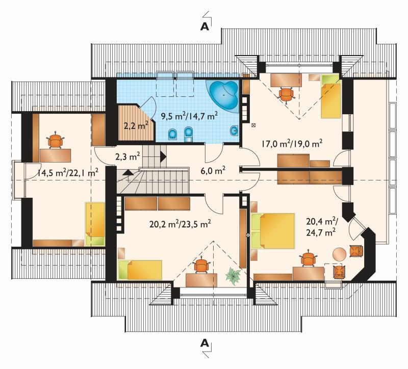 Проект дома Мая-2 (E-733)