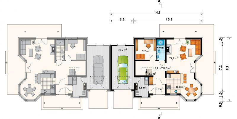 Проект дома Мая Дуо (E-772)