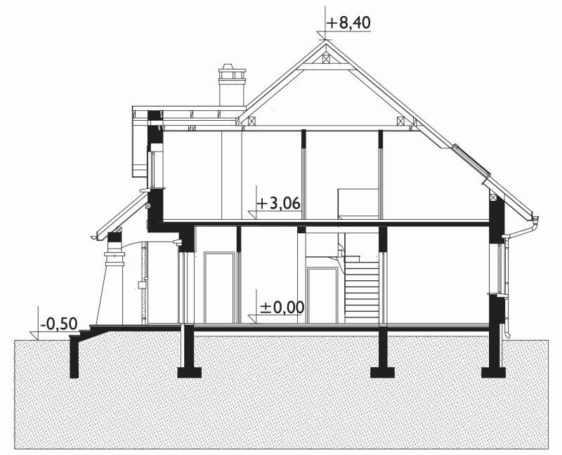 Проект дома Мая Крак (E-840)