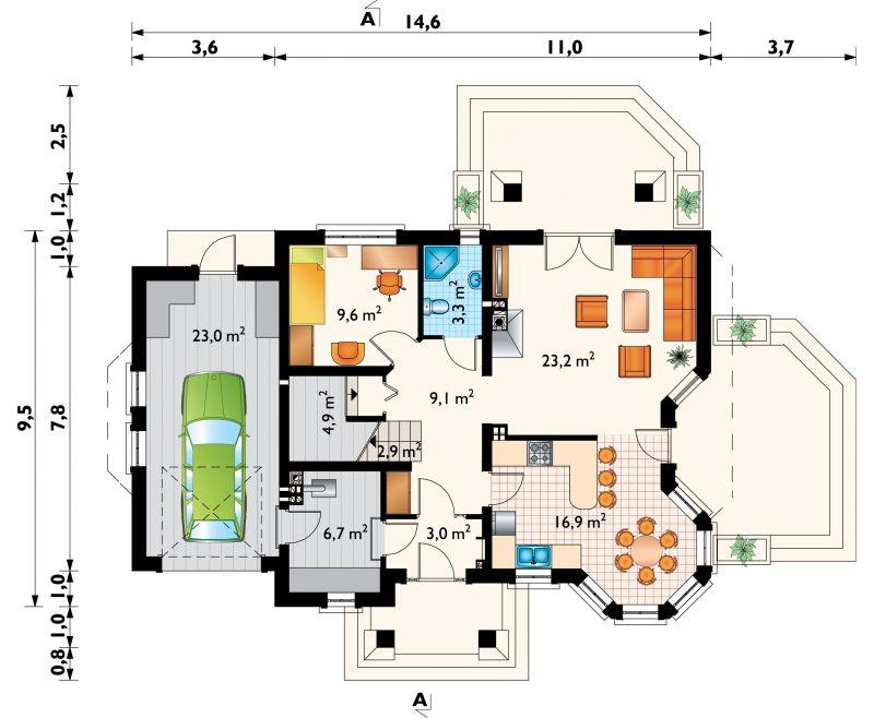 Проект дома Мая Люкс (E-815)