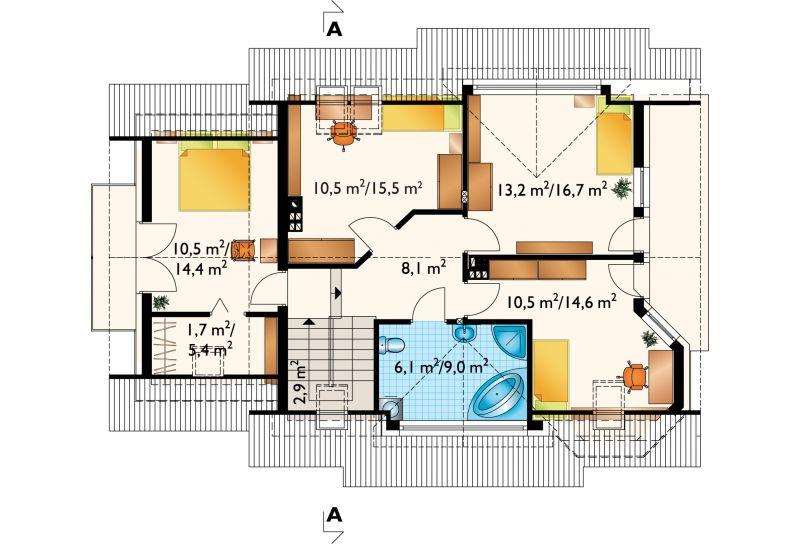 Проект дома Мая Поло Мини (E-892)