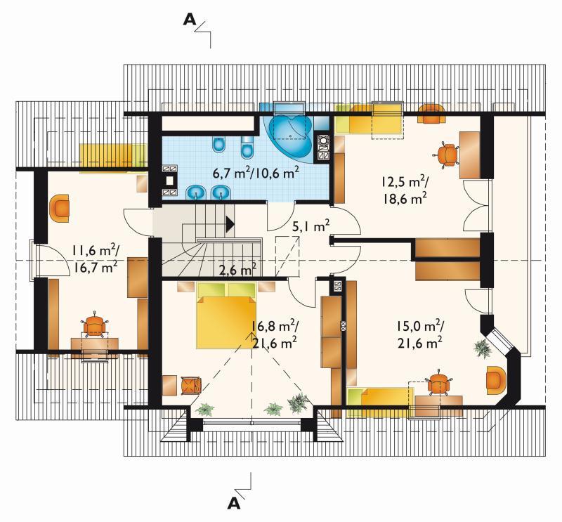 Проект дома Ямайка Рекс Грота (E-887)