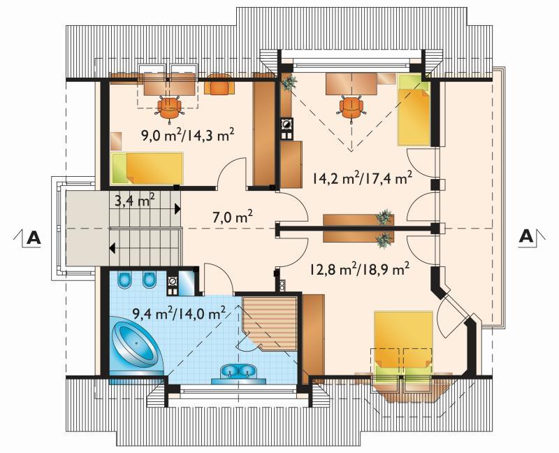 Проект дома Мая Соло (E-993)