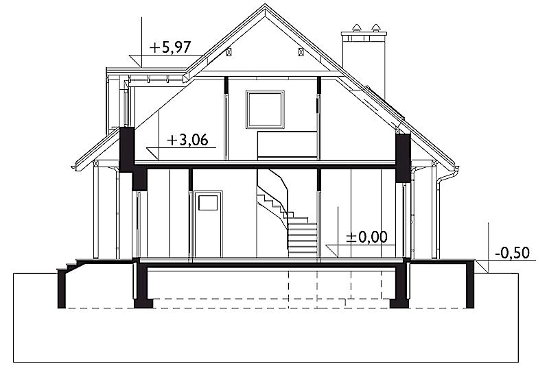 Проект дома Ямайка (E-659)