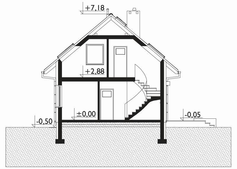 Проект дома Малик (E-1256)
