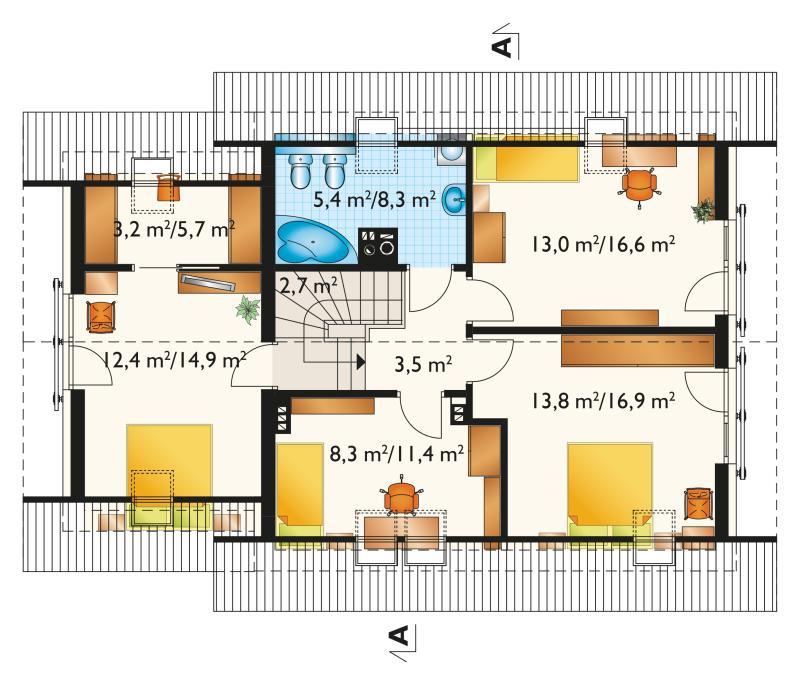 Проект дома Малина Альфа (E-1199)