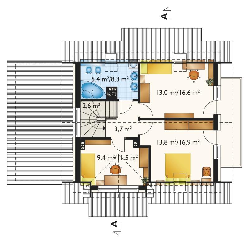 Проект дома Малина Бобо (E-1155)