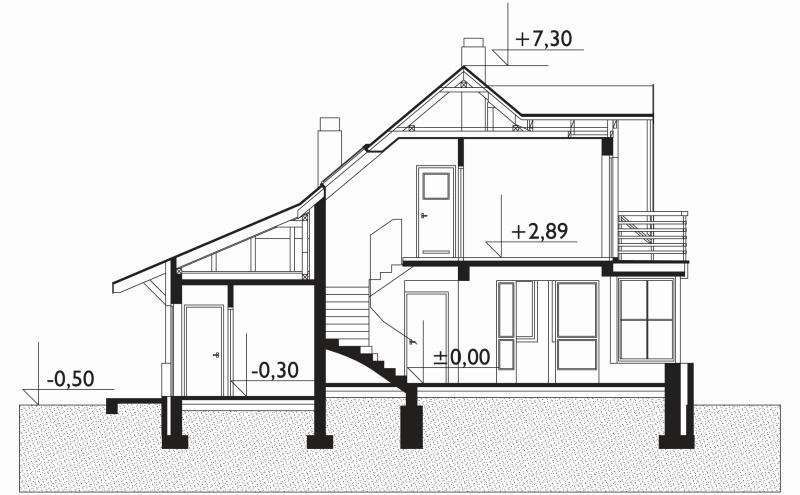 Проект дома Малый Тукан (E-331)