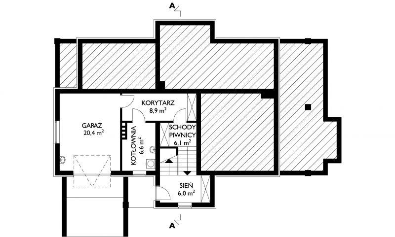 Проект дома Марселина (E-335)