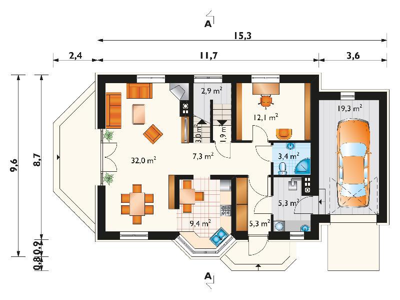 Проект дома Мартуся (E-811)