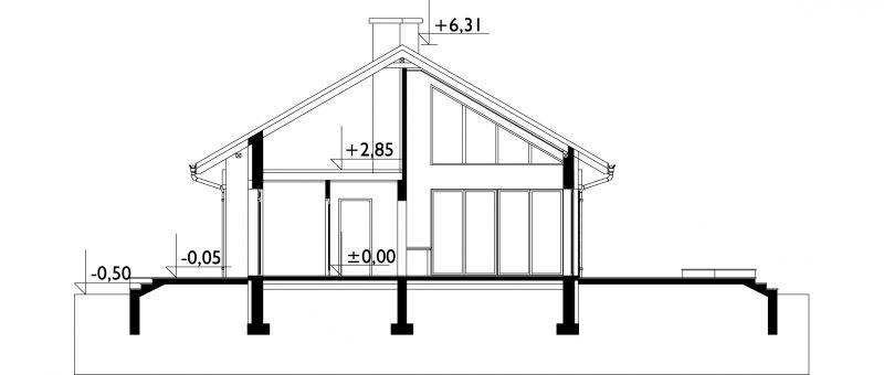Проект дома Меля (E-822)