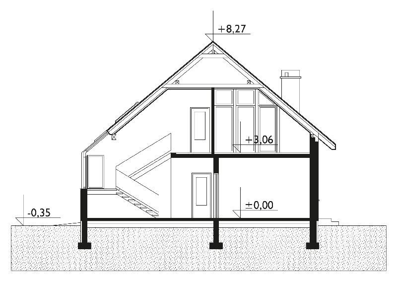 Проект дома Мельба (E-826)