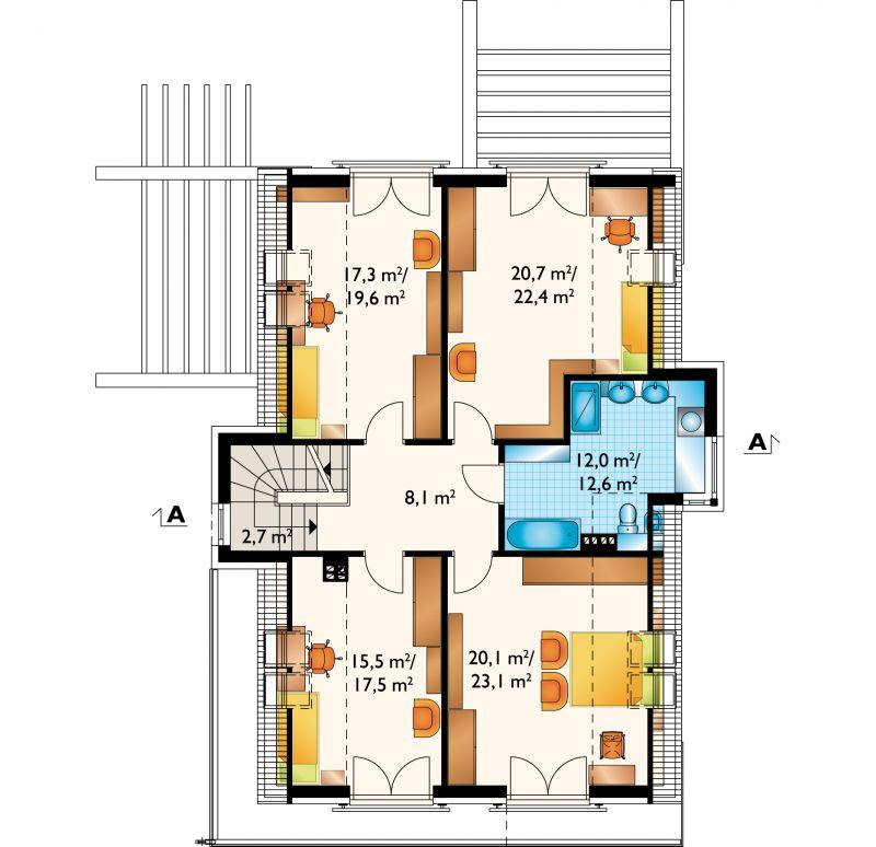 Проект дома Мелон (E-1357)