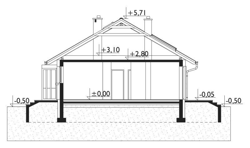 Проект дома Микро Эко (E-1158)