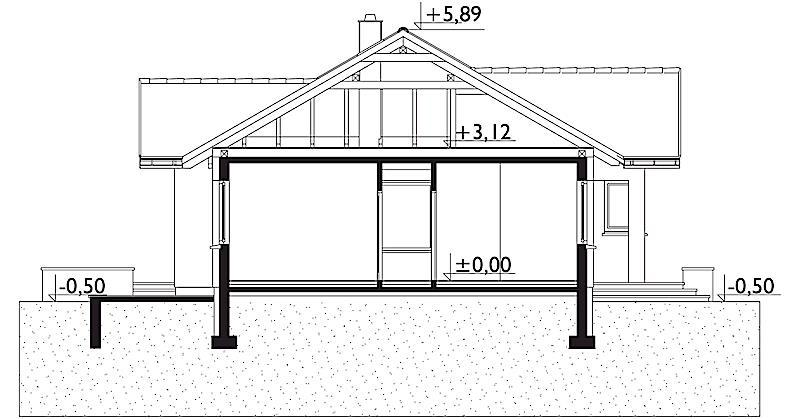 Проект дома Микрус (E-1264)