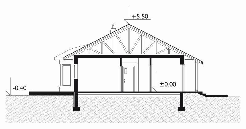 Проект дома Милена (E-713)