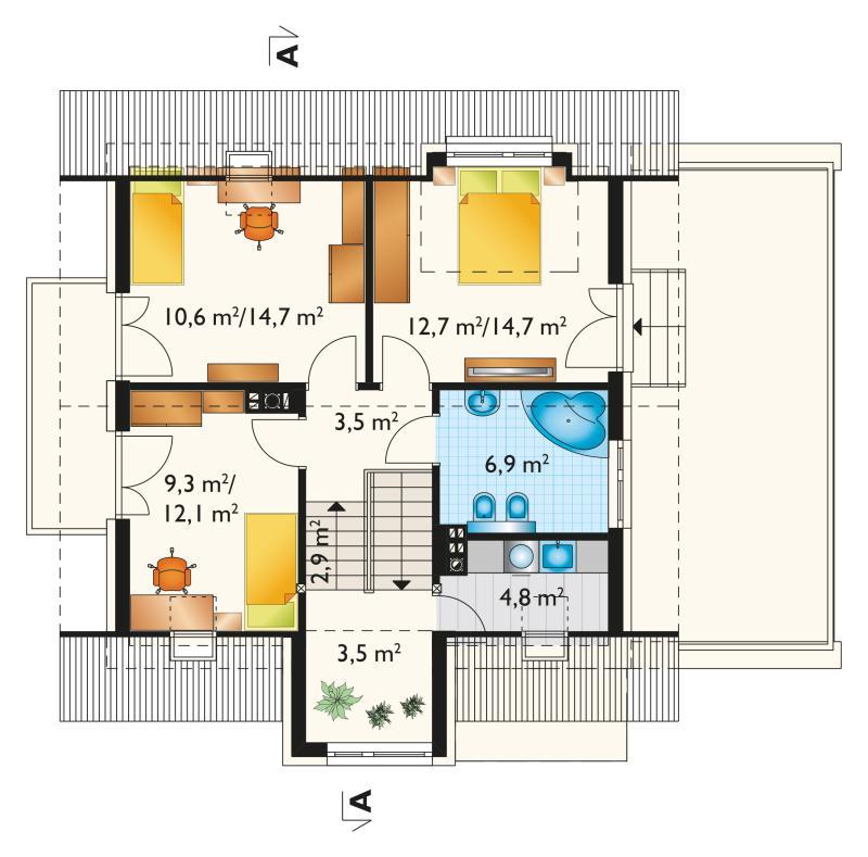 Проект дома Мирона (E-1222)