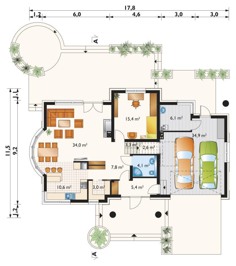 Проект дома Модеста (E-1240)