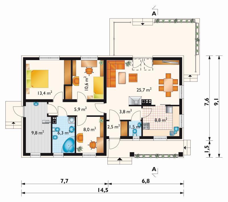 Проект дома Мудролюб Карбо (E-956)