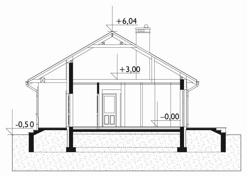 Проект дома Мудролюб Солис (E-1055)