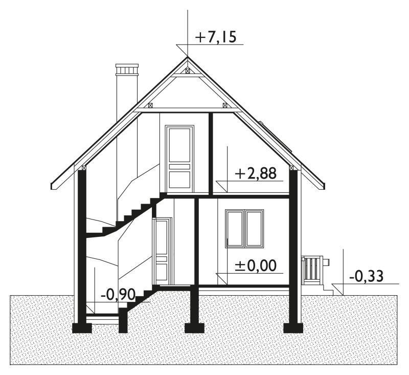 Проект дома Муравей (E-365)