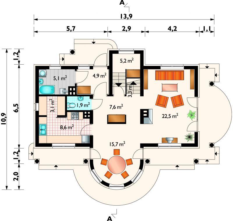 Проект дома Нефрит (E-371)