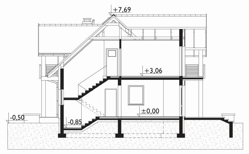 Проект дома Новина Поло (E-1149)