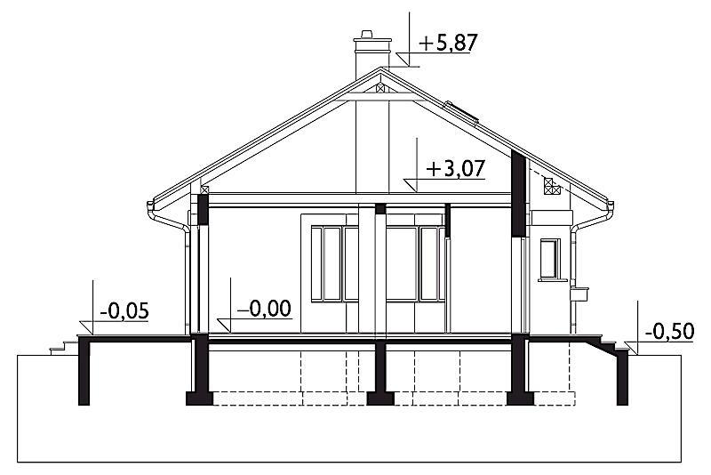Проект дома Нита Карбо (E-1083)