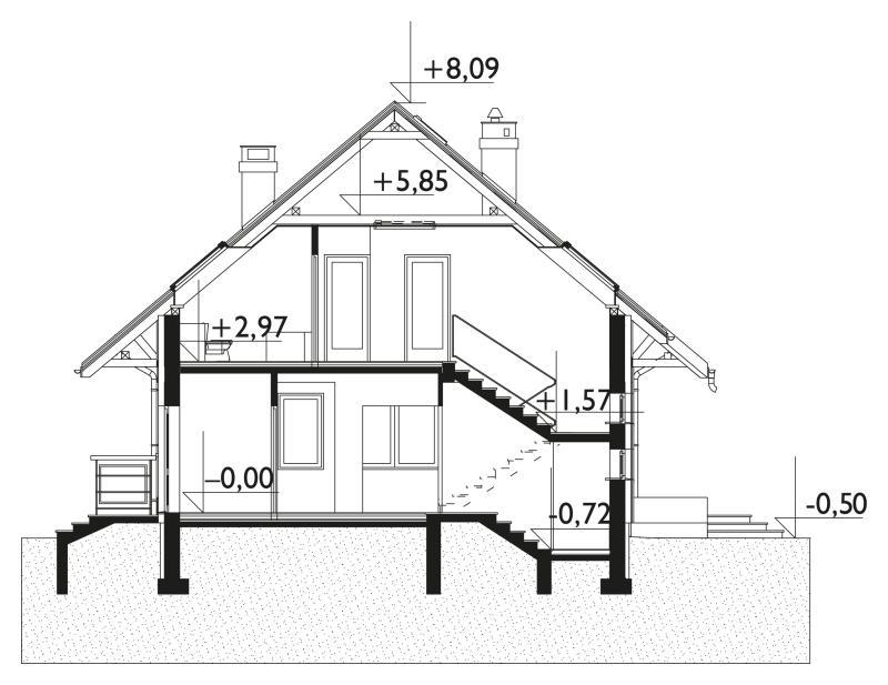 Проект дома Карета Рекс (E-970)