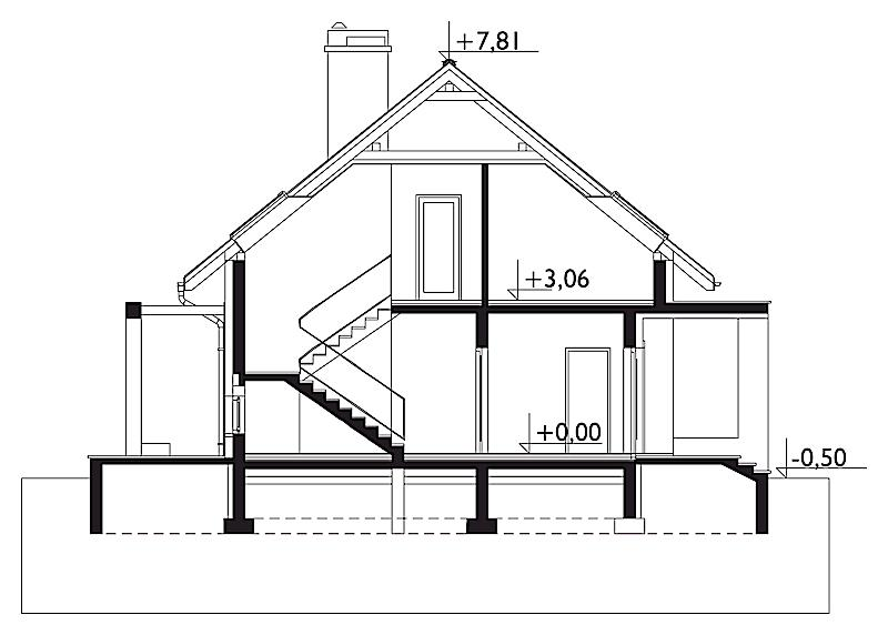 Проект дома Омега (E-1130)