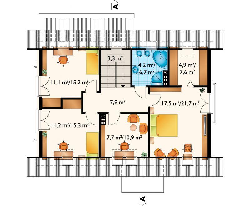 Проект дома Омега Дрон (E-1201)