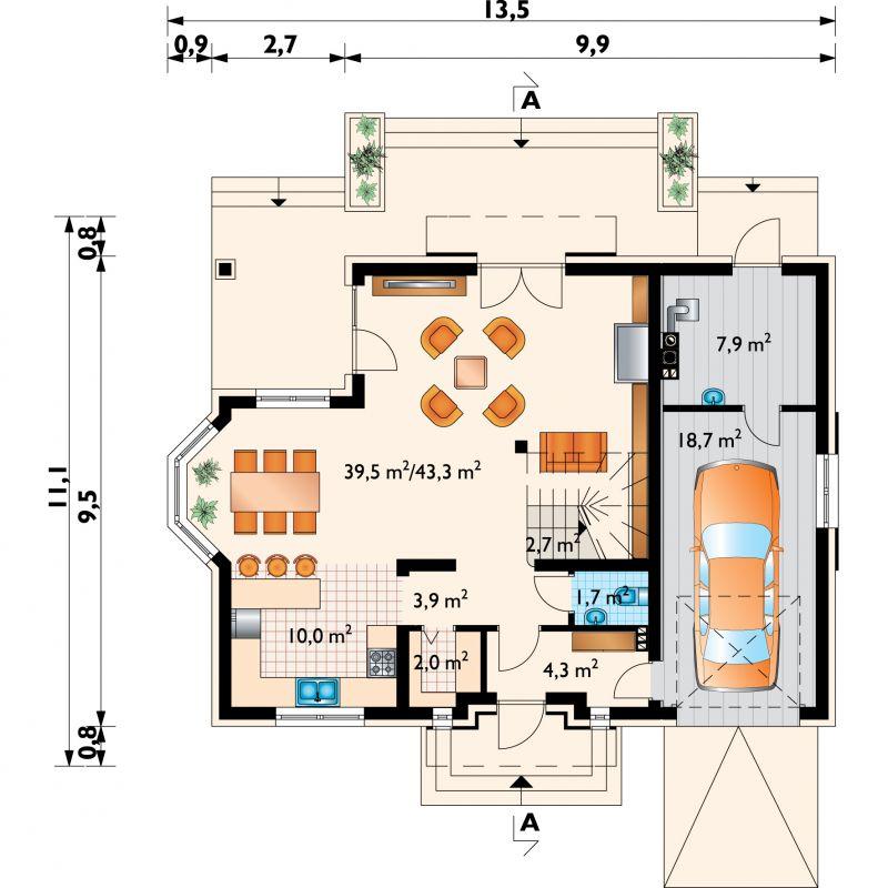 Проект дома Опус (E-1052)
