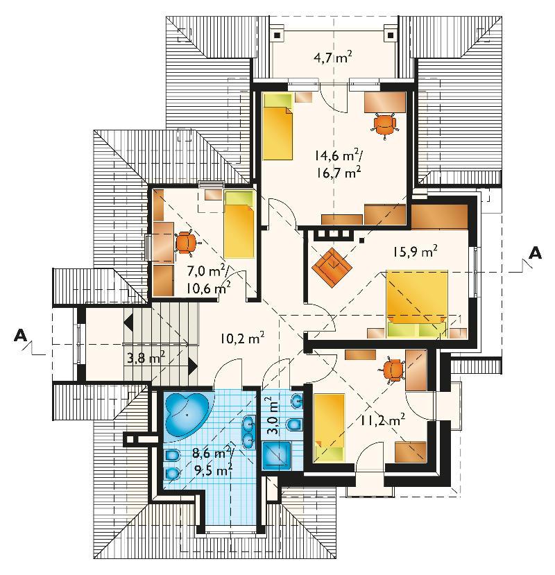 Проект дома Орлиное гнездо (E-388)