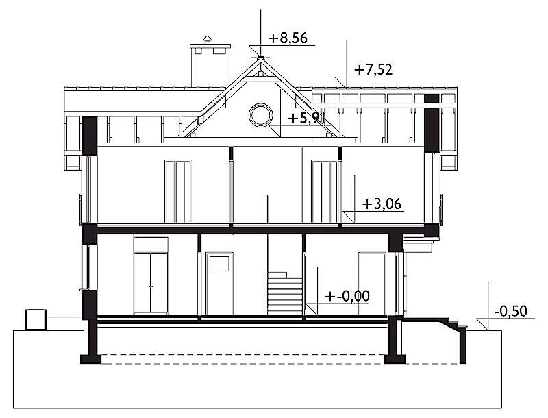 Проект дома Пабло Нео (E-1099)
