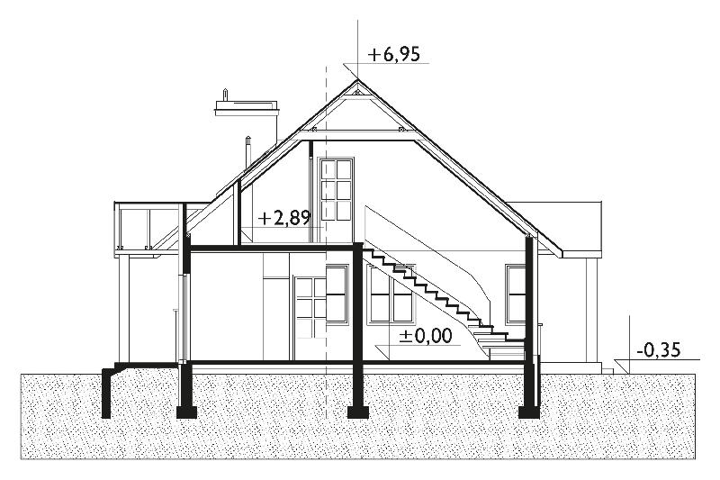 Проект дома Матадор (E-413)