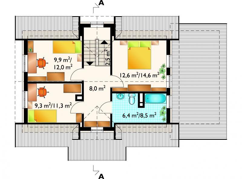 Проект дома Дельфин (E-414)