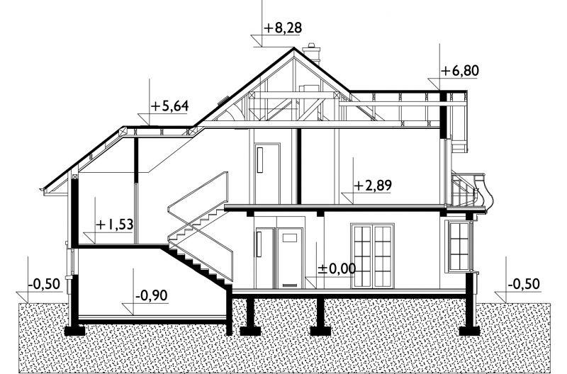 Проект дома Отличник Люкс Г2 (E-934)