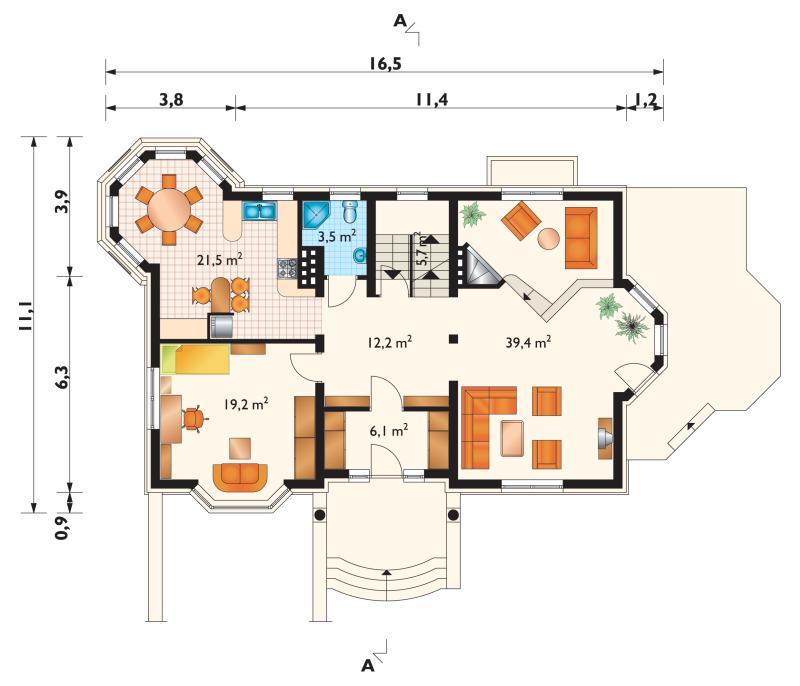 Проект дома Иберис (E-430)