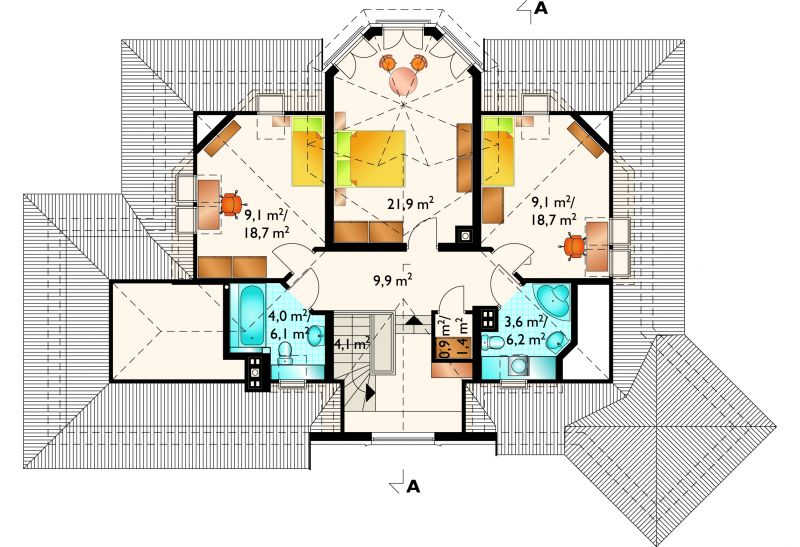 Проект дома Рава (E-571)