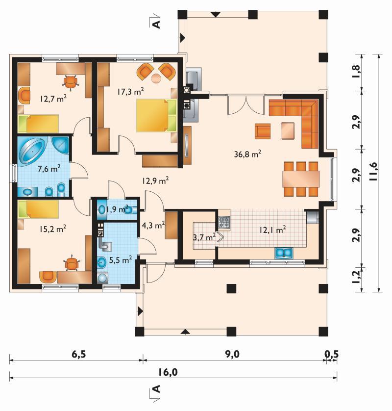Проект дома Регина (E-1121)