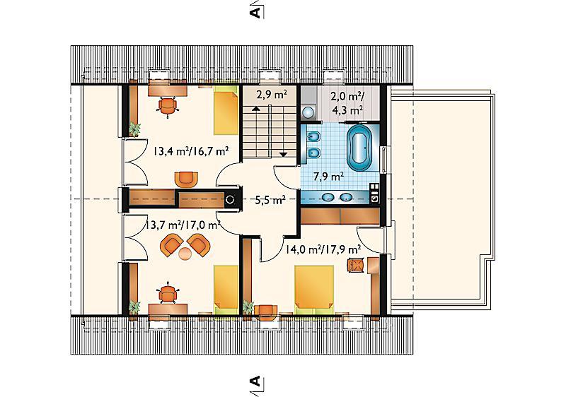 Проект дома Рената (E-1272)